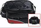 Сумка на багажник синя, фото 8