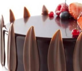 Сухой кондитерский гель с ароматом и цветом шоколада