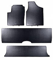 Коврики в салон VW SHARAN / SEAT ALHAMBRA (96-10)/FORD GALAXY (96-06) 7 мест (4шт.)
