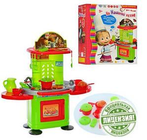 """Большая Детская кухня """"На Машиной кухне"""" - подсветка, звуковые эффекты"""