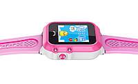 Водонепроницаемые детские GPS часы UWatch Baby DF27 Розовый