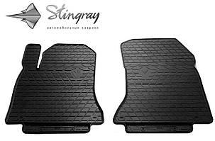 INFINITI Q30 2015- Комплект из 2-х ковриков Черный в салон