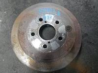 Диск тормозной задний Subaru Legacy, Outback B14, 2010 г.в, 26700FG000