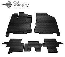 INFINITI QX60 2013- Комплект из 5-и ковриков Черный в салон