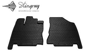 INFINITI QX60 2013- Комплект из 2-х ковриков Черный в салон