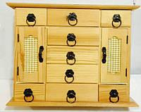 Комодик  для росписи и декупажа (29*23*9 см) деревянный