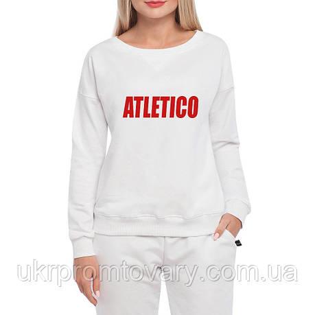 Свитшот женский - atletico word, отличный подарок купить со скидкой, недорого, фото 2