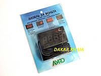 Цифровой тахометр вольтметр 24В AYRO для дизельных двигателей