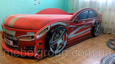Кровать Тесла красная