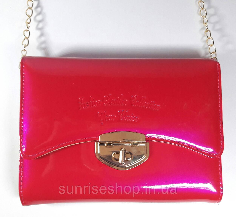 03db68c61d41 Сумка-клатч детская лаковая для девочки- подростка - Sunriseshop косметички клатчи  детские ...