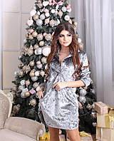 Женское платье бархат 42-52