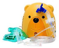 Ингалятор небулайзер мишка для детей Care Life