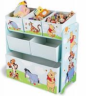 Комод / ящик / органайзер для детских игрушек Delta Винни-Пух