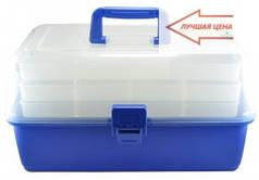 Ящик для риболовлі, органайзер для снастей, подарунок рибаку за доступною ціною