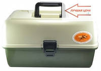 Ящик для снастей, подарок органайзер рыбаку, компактный и удобный при транспортировке