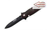 Нож складной с замком Liner lock оснащен анодированным лезвием, сталь 440А