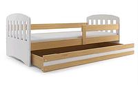 Кровать для детей 160x80 + перила +матрас HAPPY