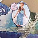 Новогоднее платье для девочки Эльза на 4-6 лет, фото 3