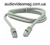 Патч-корд RJ-45 UTP 5e, длина 2 метра, интернет-кабель