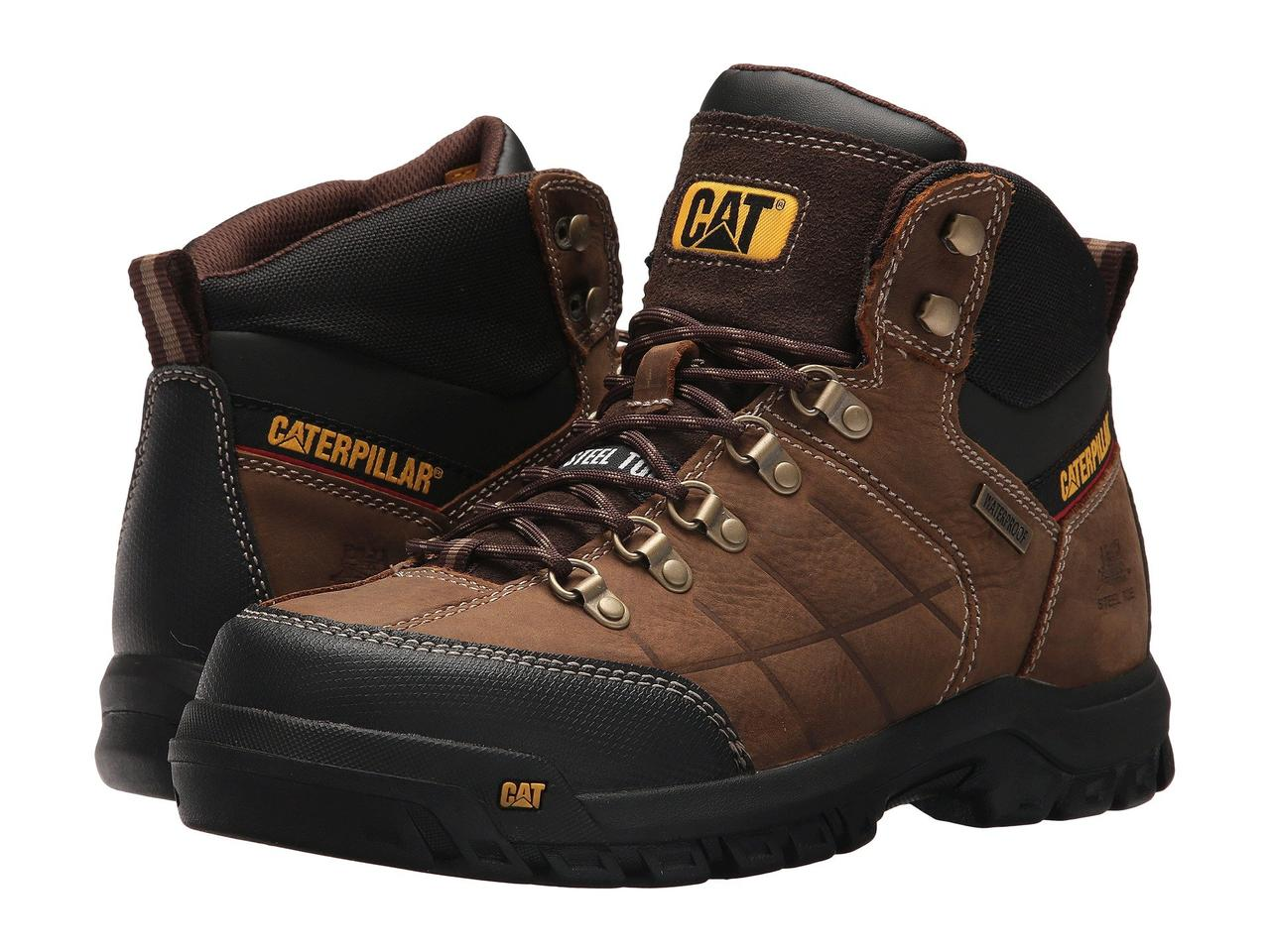 Ботинки/Сапоги (Оригинал) Caterpillar Threshold Waterproof Steel Toe Brown