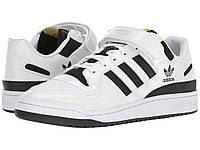 Кроссовки/Кеды (Оригинал) adidas Originals Forum Lo Footwear White/Core Black/Gold Metallic