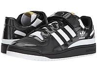 Кроссовки/Кеды (Оригинал) adidas Originals Forum Lo Core Black/Footwear White/Gold Metallic