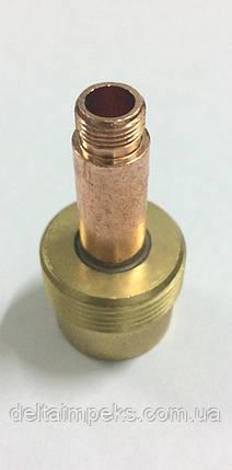 Корпус цанги с диффузором увеличенная модель для горелки ABITIG 17,26,18, д 4.0мм, фото 2