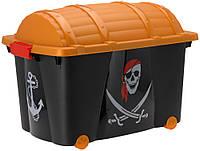 Коробка / ящик для детских игрушек Пираты 57 л