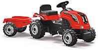 Трактор педальный с прицепом XL Smoby