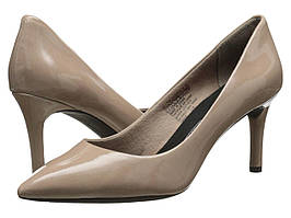Туфли на каблуке (Оригинал) Rockport Total Motion 75mm Pointy Toe Pump Warm Taupe