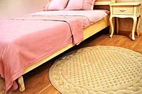 Коврик круглый Gelin Home Erguvan 120х120 Кремовый