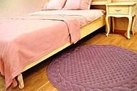 Коврик круглый Gelin Home Erguvan 120х120 Розовый