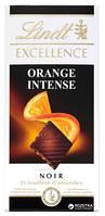 Шоколад черный Lindt Excellence Orange со вкусом апельсина Швейцария 100 г