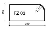 Клинкерный кирпич Terca Markisch FZ03 фигурный NF 240/115/71
