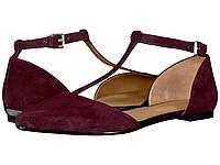 Туфли без каблука (Оригинал) Calvin Klein Ghita Oxblood Kid Suede