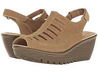 Туфли на каблуке (Оригинал) SKECHERS Parallel - Trapezoid Dark Natural, фото 1