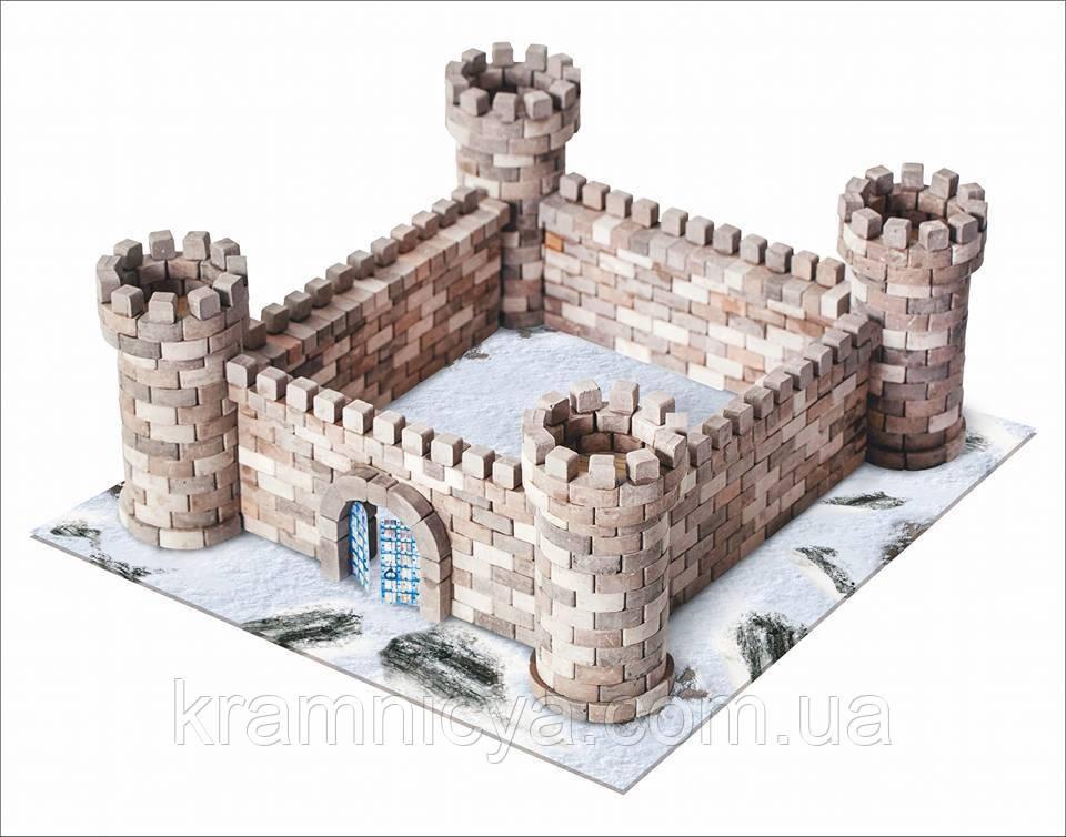 Конструктор из керамических кирпичиков 'Замок Орлиное гнездо', серия 'Мидл' (8008, 70392)