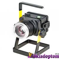 Фонарь кемпинг 2144T-T6, 3x18650, ЗУ 220V/12V, zoom, комплект**