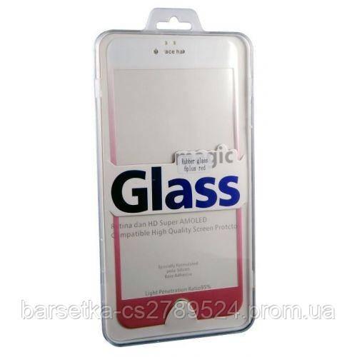 Защитное 3D стекло Rubber 3D для Apple iPhone 6 Plus/6s Plus, красный