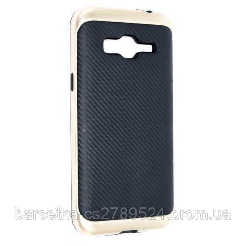Защитный чехол iPaky для Samsung Galaxy J3 2016 (J310), золотой