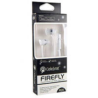 Наушник гарнитура Celebrat Firefly R20, белый
