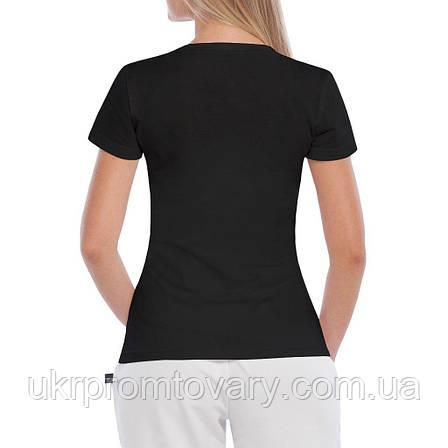 Женская футболка - Anrdoid vs apple, отличный подарок купить со скидкой, недорого, фото 2