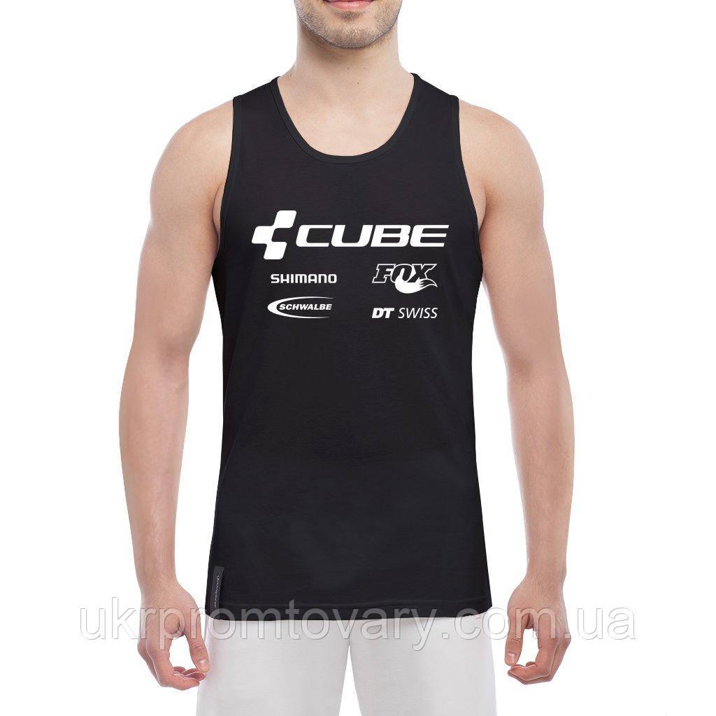 Майка мужская - Cube mtb racing team, отличный подарок купить со скидкой, недорого