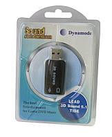 Звуковая плата Dynamode USB 6 каналов 3D RTL