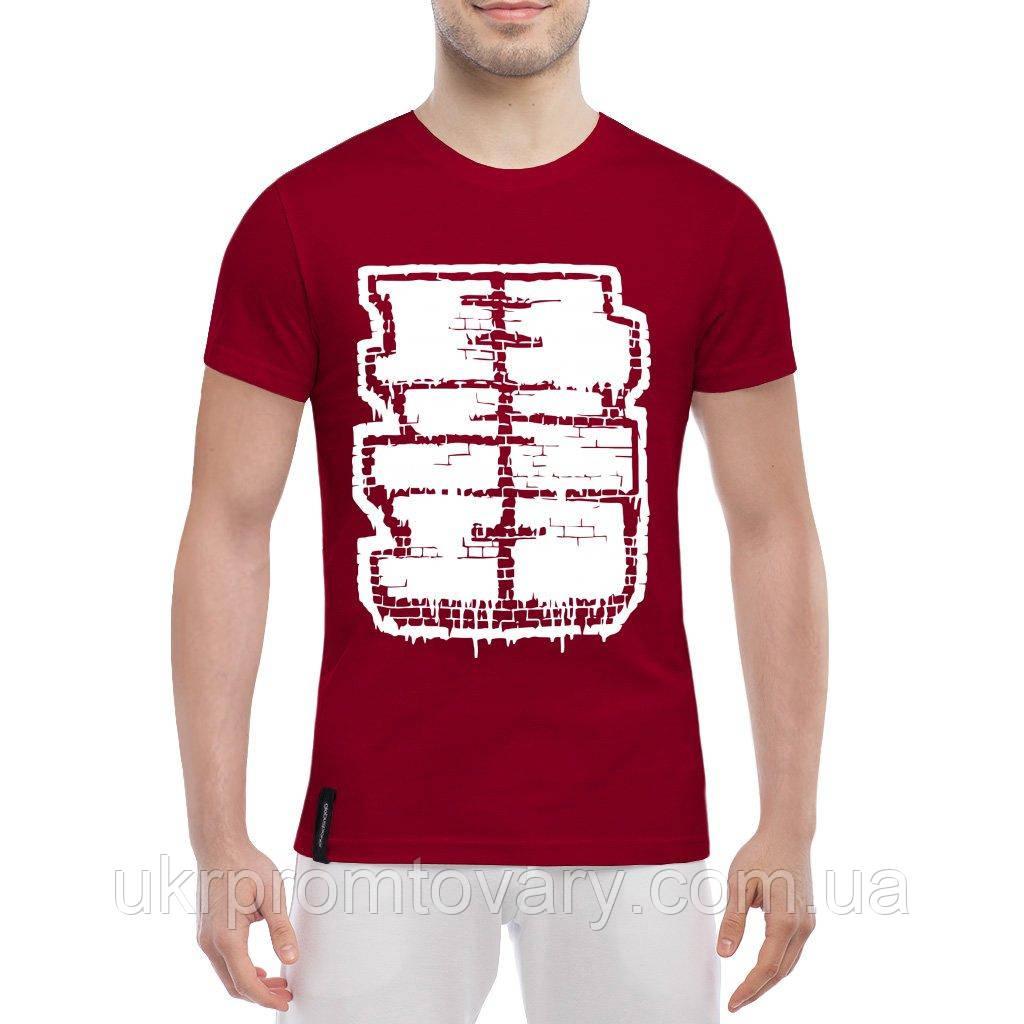 Мужская футболка - BSD, отличный подарок купить со скидкой, недорого