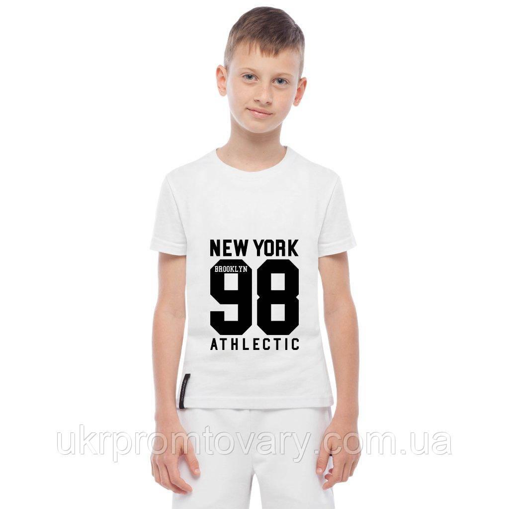 Футболка детская - New York 98 Athlectic, отличный подарок купить со скидкой, недорого