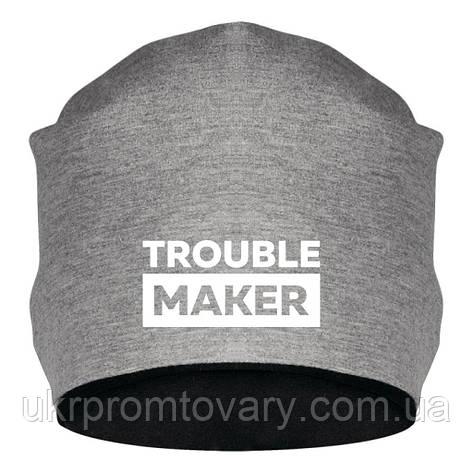 Шапка - Trouble maker, отличный подарок купить со скидкой, недорого, фото 2
