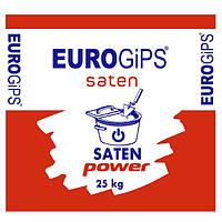 Шпатлевка финишная гипсовая Saten Power 25,0кг Eurogips 1/54