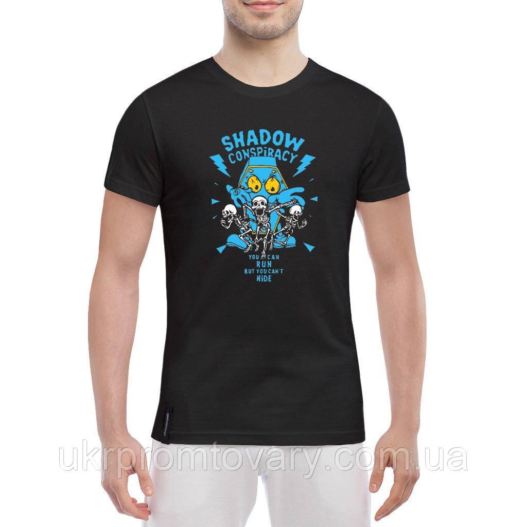 Мужская футболка - shadow conspiracy, отличный подарок купить со скидкой, недорого