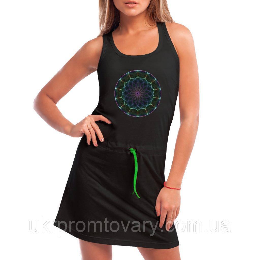 Платье - Фрактал, отличный подарок купить со скидкой, недорого